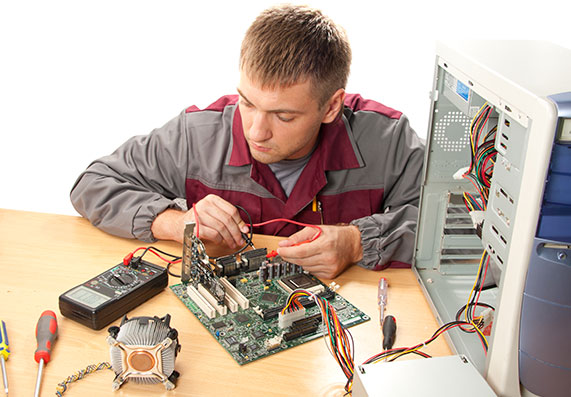 about computer repair service the store